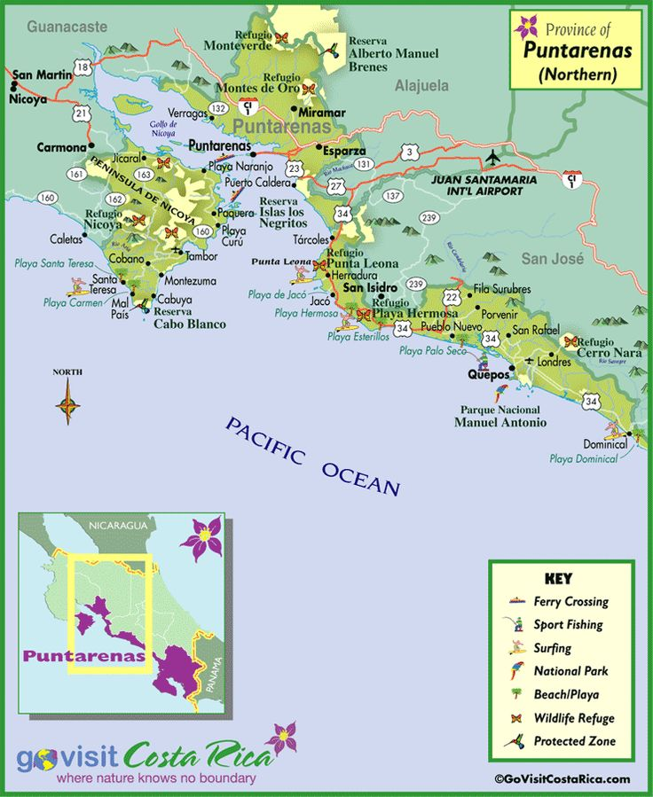 35 best Costa Rica Maps images on Pinterest Travel info Costa
