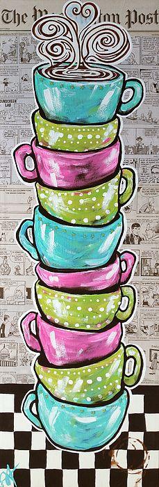 Sundays Cup A Joe, Jackie Carpenter, mugs, coffee, comics, Washington Post, newspaper