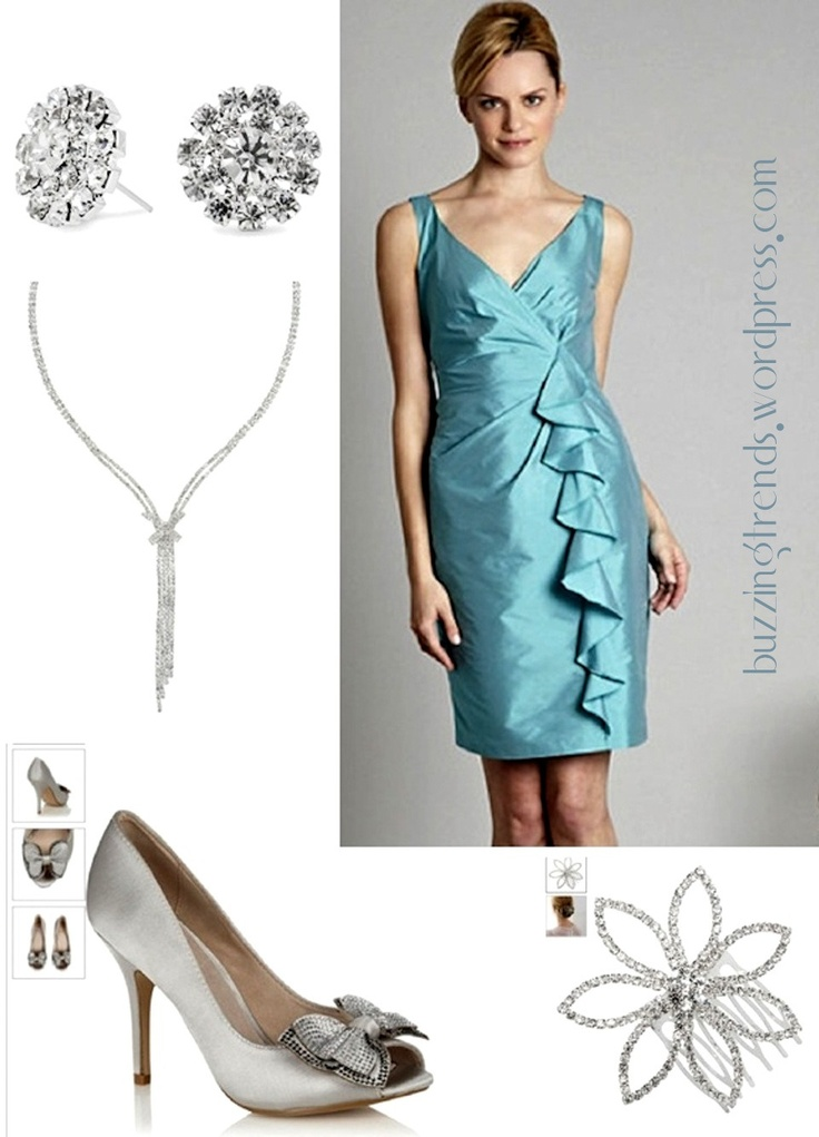 Fearless Brides Fashion Blogger Challenge: Spring-inspired bridesmaid outfit by BuzzingTrends