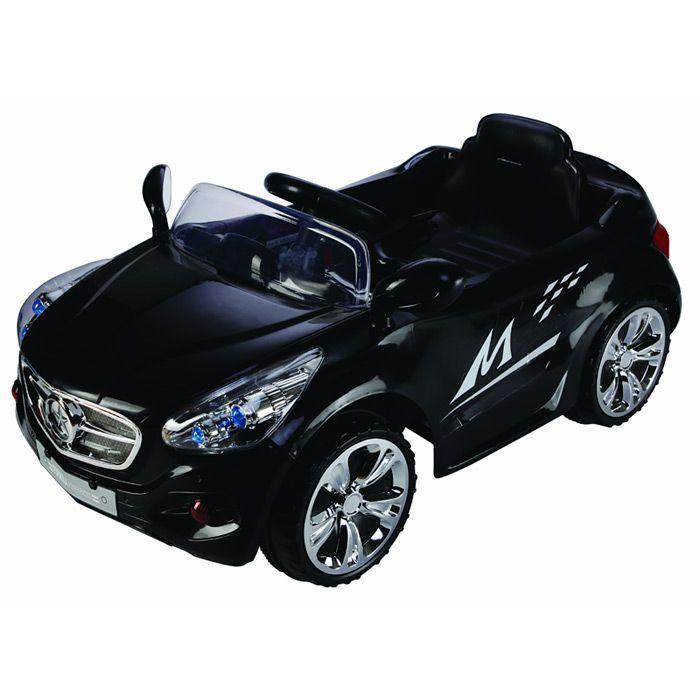 Baby2go 9325 Mercedes Uzaktan Kumandalı Akülü 12V Araba Siyah | Baby2Go | Akülü Arabalar