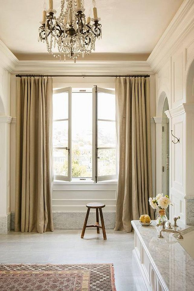 Soft And Simple Window Panels