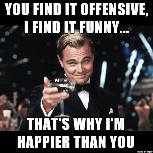 For every butthurt person out there http://lolsalot.com/for-every-butthurt-person-out-there/ #Funny #Pic
