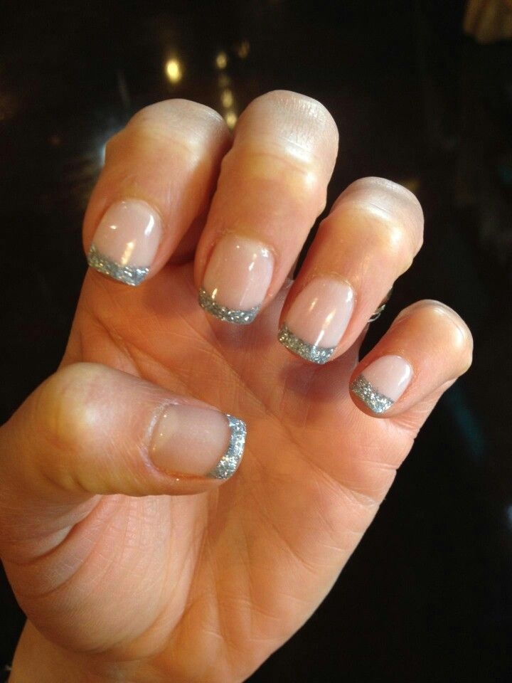 silver tips nexgen nails pinterest tips and silver