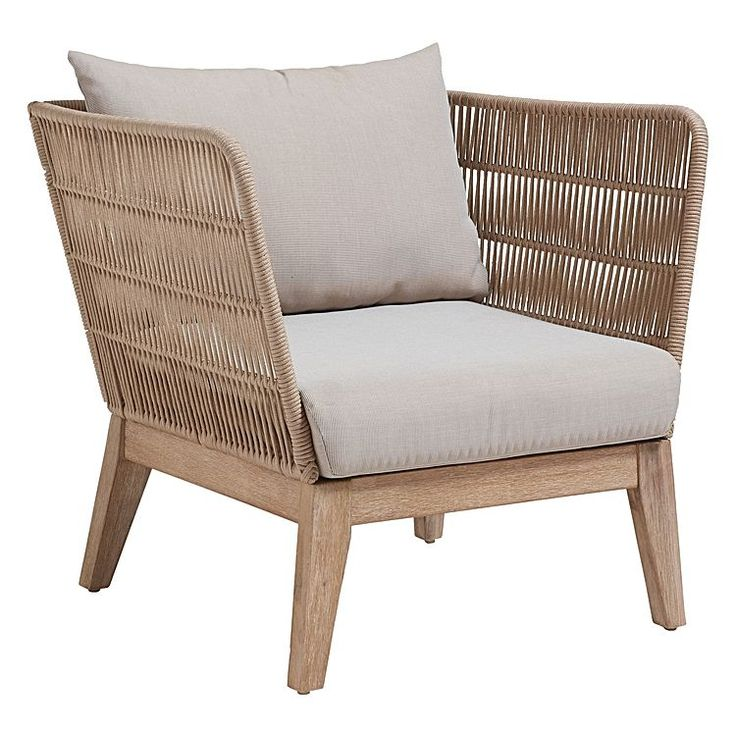 enjoy your cool summer drink on the patio with the beuna outdoor armchair from vida u0026amp