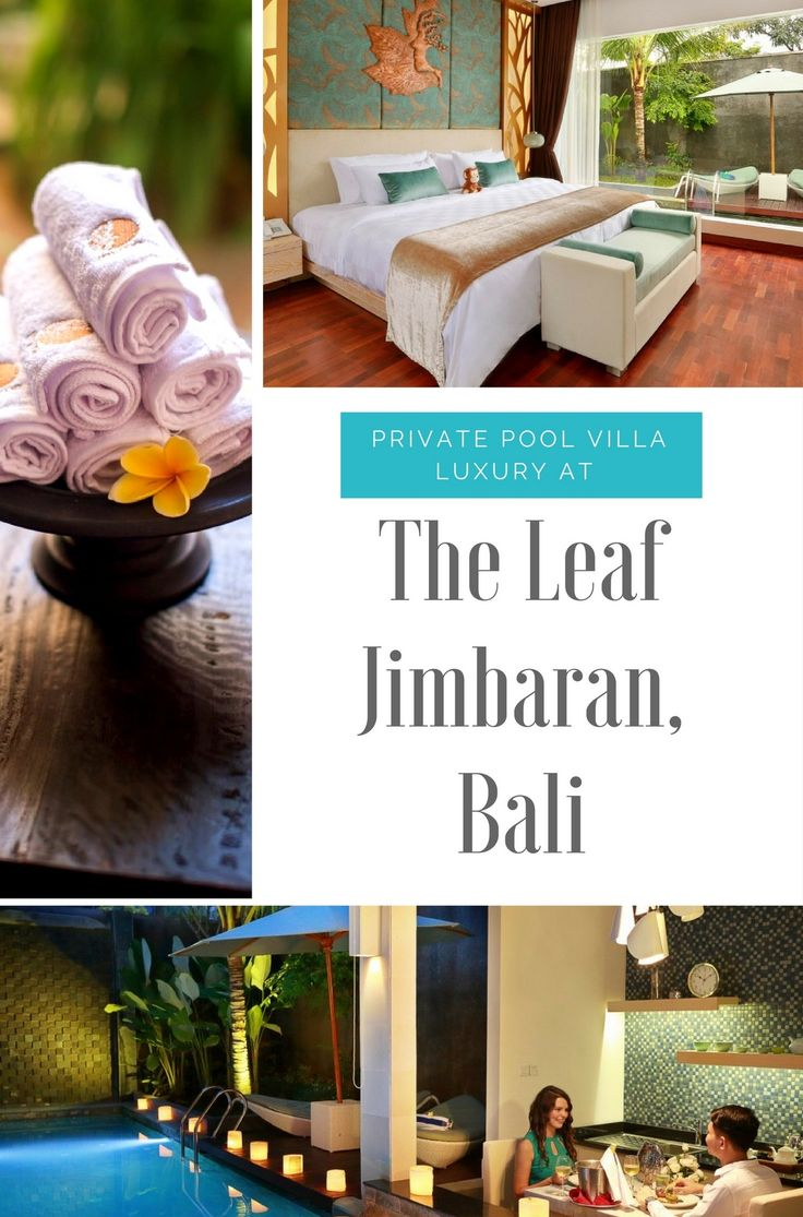 Where to stay in #Bali - a luxury #villa retreat, with a private pool and laidback vibes, The Leaf Jimbaran is a perfect base for exploring Bali's southern gems. #Indonesia