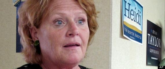 #NDSen Race Comes Down To Ticket-Splitters [Romney/Heitkamp]. - @HuffPost Politics #HeidiHeitkamp #RickBerg