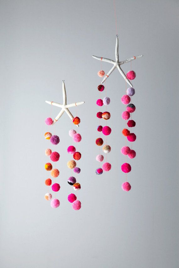LEAST Little THING... - etsy: Hanging sculptures made from antlers,...