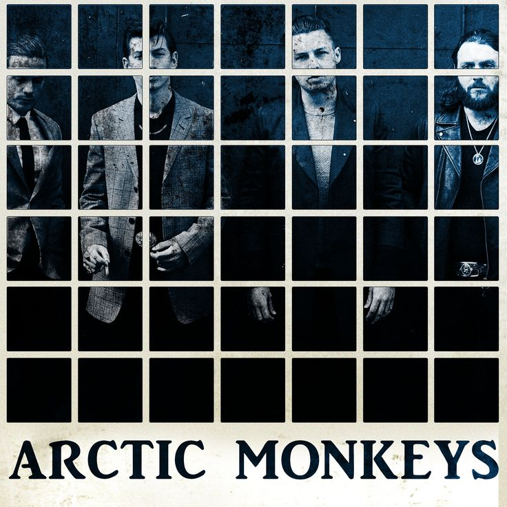 Arctic Monkeys mock up cover