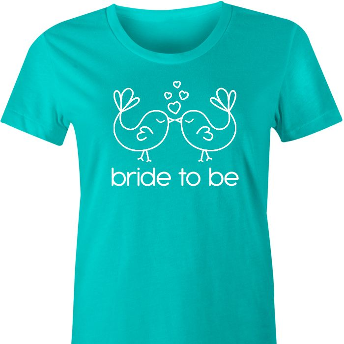 Bride To Be Lovebirds TShirt