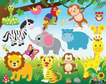 56 Circus clipart circus clip art clowns clipart by JaneJoArt