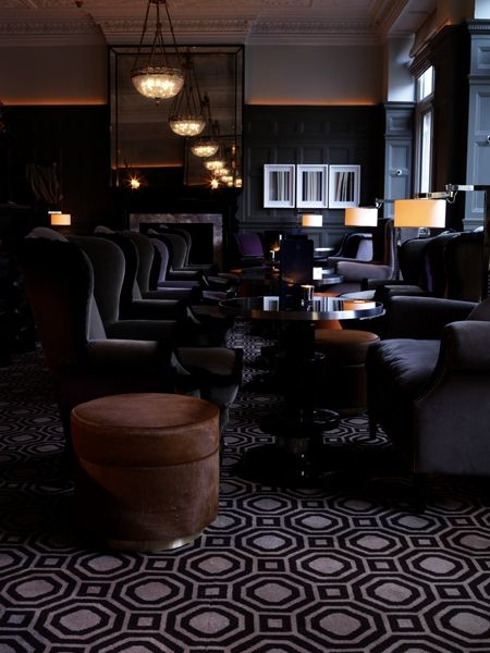 india mahdavi — architecture and design coburg bar lieu: connaught hotel, londres année: 2008 client: maybourne programme: intérieur surface: 75m2