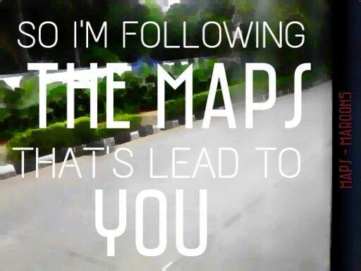 Maps - Maroon5 #lyrics