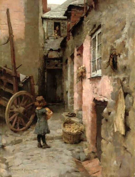 Daily Bread-Stanhope Alexander Forbes (1857 – 1947, Irish)
