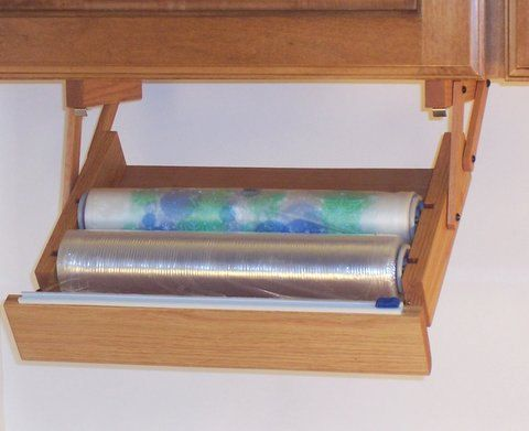 INTRODUCING OUR NEW.... 'Ultimate Plastic Wrap Dispenser'....A bright idea in kitchen storage and housewares!