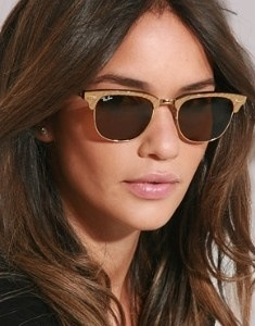 ray ban clubmaster brushed bronze