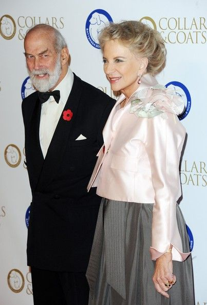 Princess Michael Photos - Prince Micheal of Kent and Princess Michael of Kent attends the annual Collars and Coats gala ball in aid of Battersea Dogs & Cats home at Battersea Evolution on November 7, 2013 in London, England. - Arrivals at the Collars and Coats Gala Ball