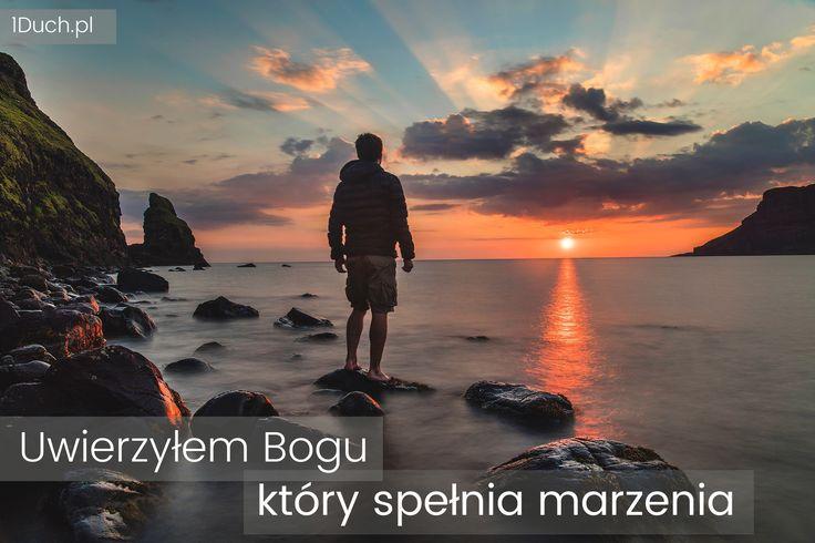 1Duch.pl #Bóg #wiara #marzenia #słońce #wschód #zachód #skała #morze #woda #Gimp #Unsplash #tapeta #człowiek #Poppins #JoshuaEarle