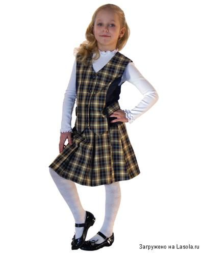 fashionable school uniform for girls