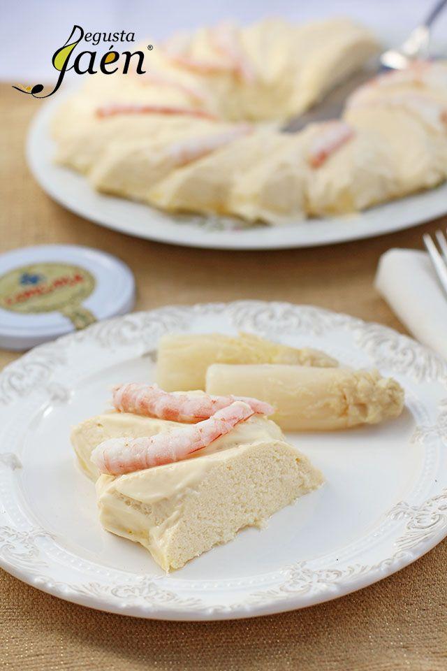 Pastel de espárragos blancos Congana Degusta Jaén (1)                                                                                                                                                      Más