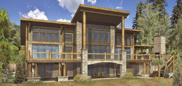9 best Popular Log Home and Timber Frame Home Floor Plans images on – Modern Log Home Floor Plans