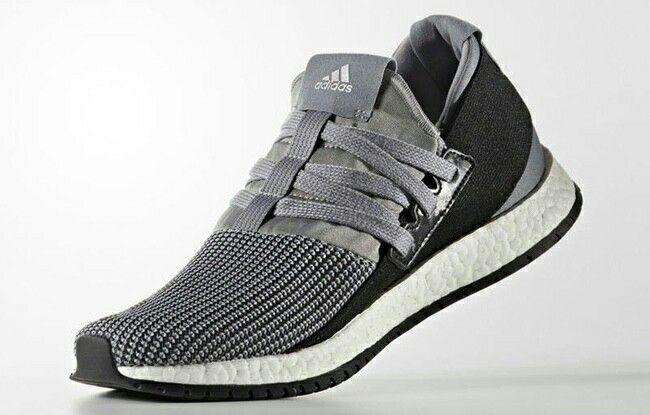 adidas Pure Boost RAW in silver & black