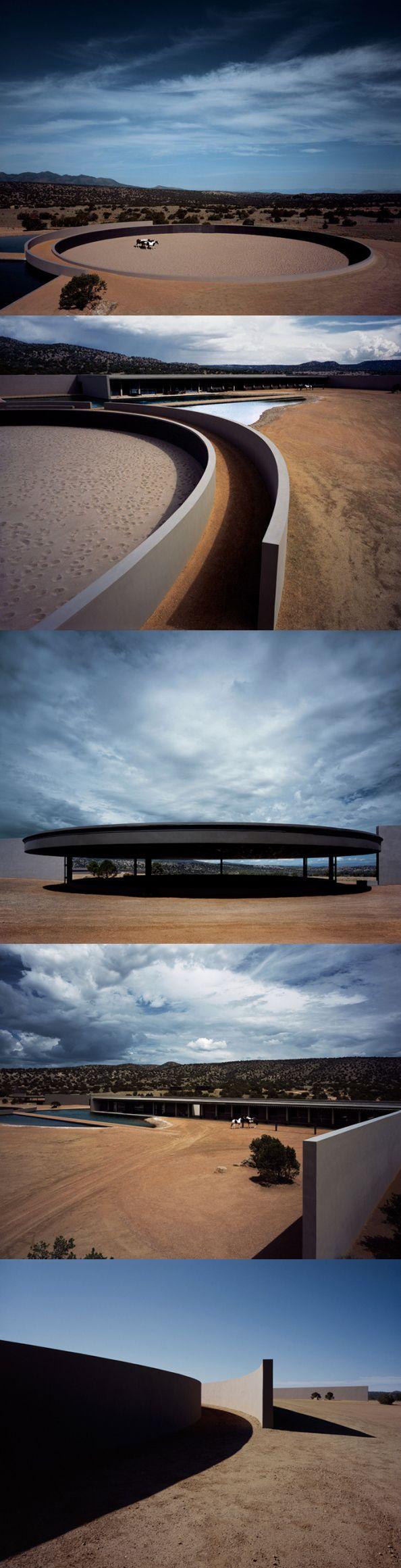 Tom Ford's New Mexico Ranch - Tadao Ando Jogo de Sombras