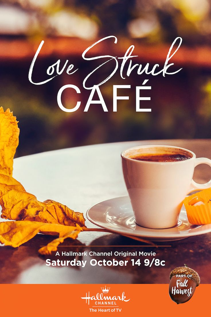 Love Struck Cafe - Sarah Jane Morris and Andrew Walker work together to save a local diner. Watch sparks fly on October 4 at 9/8c on Hallmark Channel! #FallHarvest #HallmarkChannel