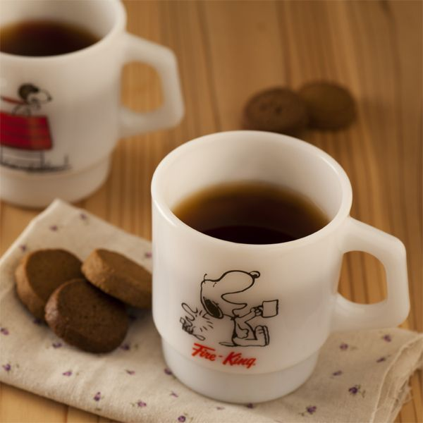 Fire-King - would love these Snoopy mugs-I still have one!
