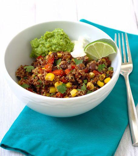 Southwest Quinoa Salad Recipe on Yummly