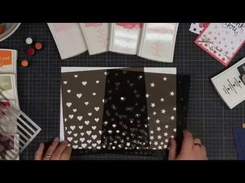 Trukendoos - stempeltechnieken: Decorative Masks - YouTube