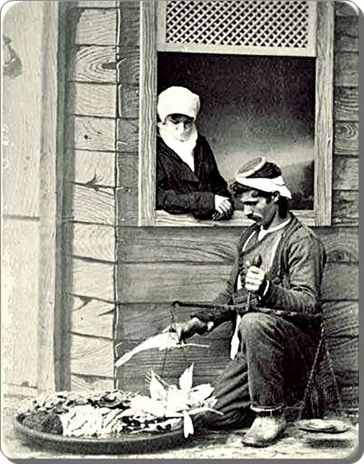 Balikci/ 1870'ler Fish seller