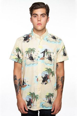 Glamour Kills The John Ryan Hawaiian Button Up - http://www.glamourkills.com/The-John-Ryan-Hawaiian-Button-Up-p5001-c5390.html