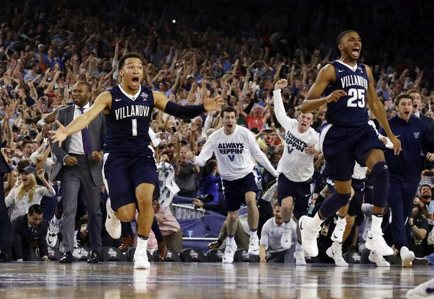 "A win, for the Ages-- as basketball legend Michael Jordan WATCHED, from the stands.The end Of The 2016 NCAA Championship Game, thanks to Villanova, was absolutely thrilling. A last minute decision by Ryan  Arcidiacono ""not"" to throw, but to pass the ball to teammate Kris Jenkins, delivered an epic, NCAA team victory. http://mobile.nytimes.com/2016/04/06/sports/ncaabasketball/kris-jenkins-ryan-arcidiacono-villanova.html"