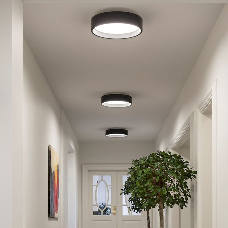 Louis poulsen lp circle surface light sparekassen for Deckenleuchten led flur