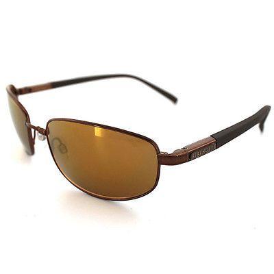 Serengeti Sunglasses Manetti 7577 Shiny Light Brown Polar PhD Drivers Gold Lens