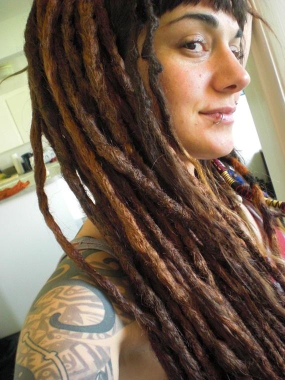 Temporary Dreadlocks With Natural Hair