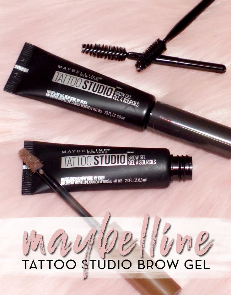Brows for literal days brow gel maybelline tattoo