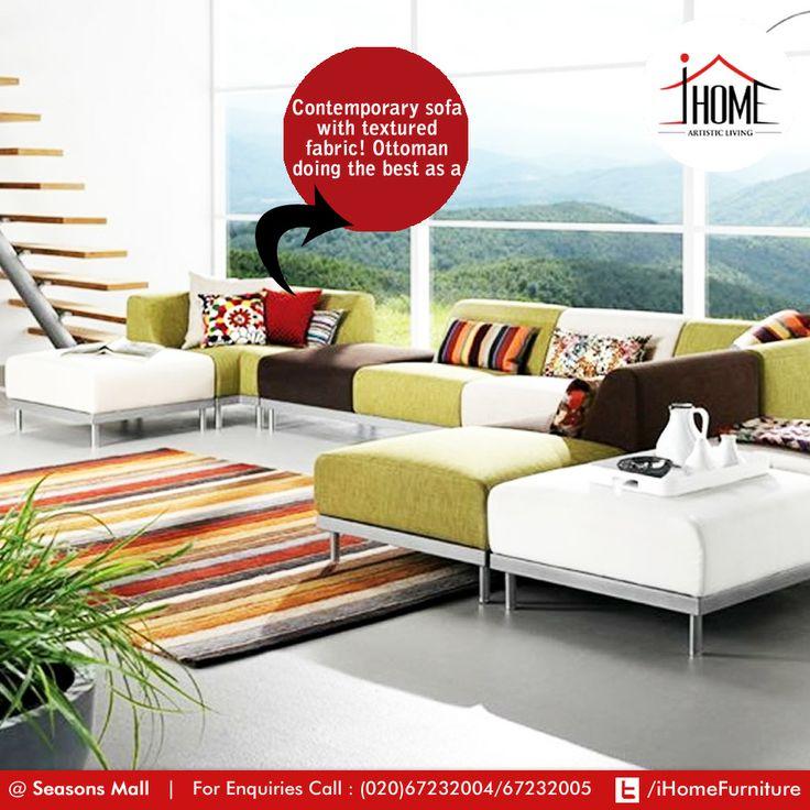 Broyhill Sofa Living Room Interior Design with Reflex Sofa by Toine van den Heuvel