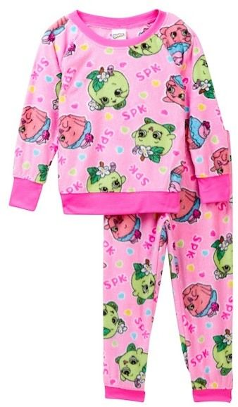 AME Shopkins Minky Pajama Set (Little Girls & Big Girls)