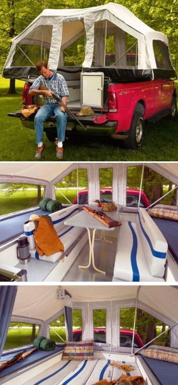 Idee originala pentru camping