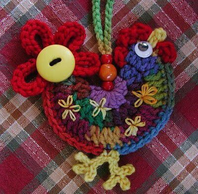 gallo en croche