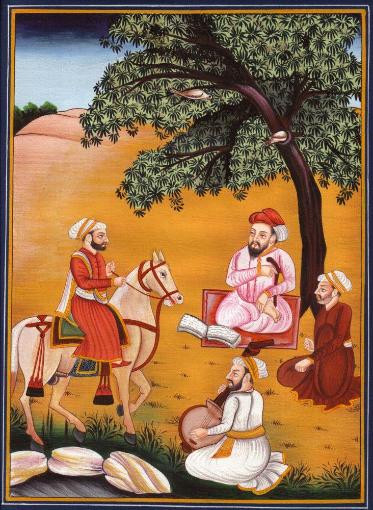 Guru Nanak Sikh Painting