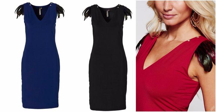 NOVÉ ,,RAINBOW šaty 2v1 s odepínací aplikací vel.36/38 :: AVENTE ...móda s nápadem
