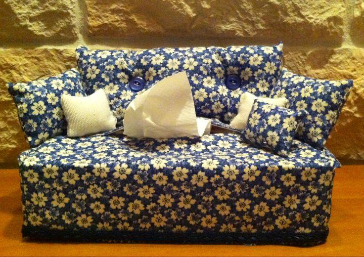 divanetto porta fazzolettini