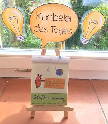 materialwiese: Knobelaufgabe des Tages in der Grundschule