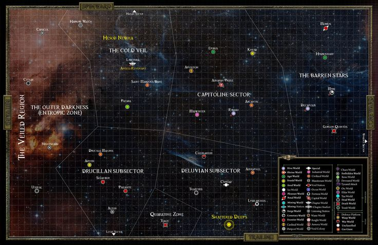 WH40k Orpheus sector by M00nprophet on DeviantArt