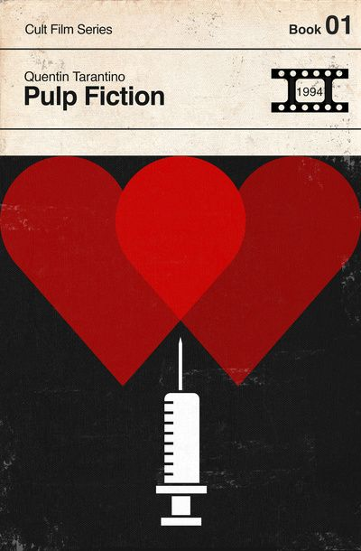 Pulp Fiction Modernist Book Cover Series Art Print by Creative Spectator