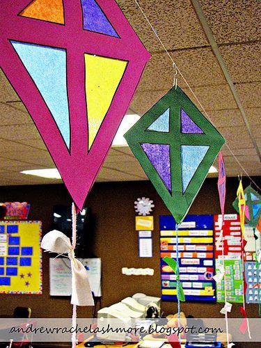 kid's kite craft
