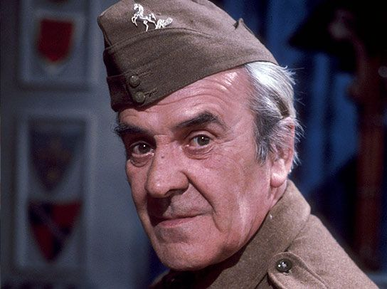 "Dad's Army - John le Mesurier - Sergeant Arthur Wison -  Last words: ""It's all been rather lovely."""