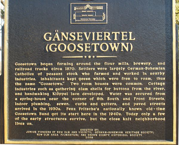 goose town sign